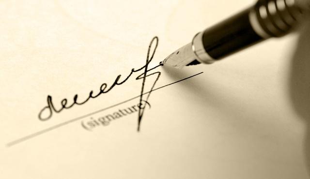 صوره كيفية عمل فورمة توقيع