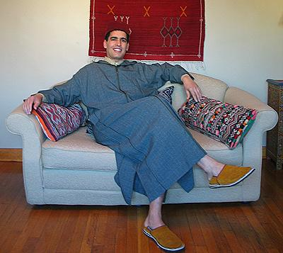 صورة لباس تقليدي مغربي للرجال