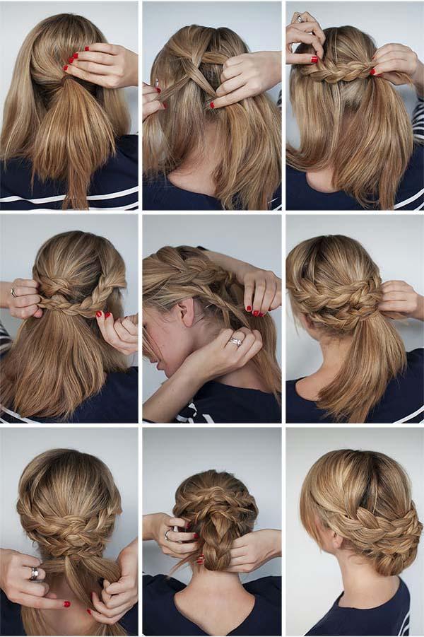 بالصور طريقة عمل موديلات شعر بسيطة 11106 1