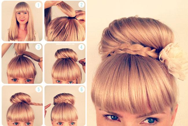 بالصور طريقة عمل موديلات شعر بسيطة 11106 2