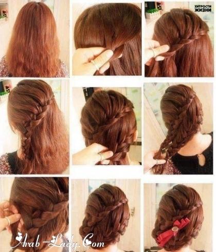 بالصور طريقة عمل موديلات شعر بسيطة 11106