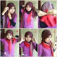 بالصور طريقة لف الحجاب بنفسك بالصور 11336 2