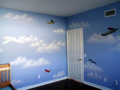 صور صبغ غرف اطفال اولاد