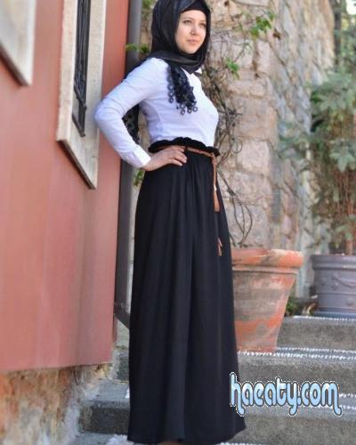 صوره ملابس محجبات تركية 2018