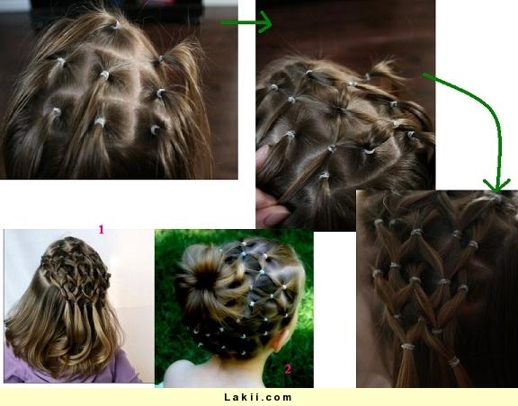 بالصور تسريحات شعر للبنات الصغار سهلة 12853 2
