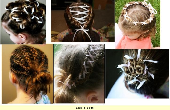 بالصور تسريحات شعر للبنات الصغار سهلة 12853 3