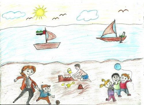 رسومات عن تلوث البيئة البحرية 7