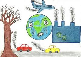 صوره رسومات عن التلوث