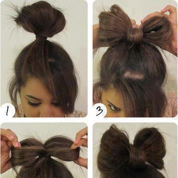 بالصور تسريحات الشعر بسيطة للمدرسة 13431 1