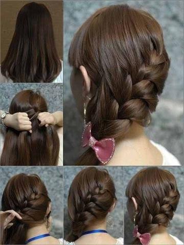 بالصور تسريحات الشعر بسيطة للمدرسة 13431 2