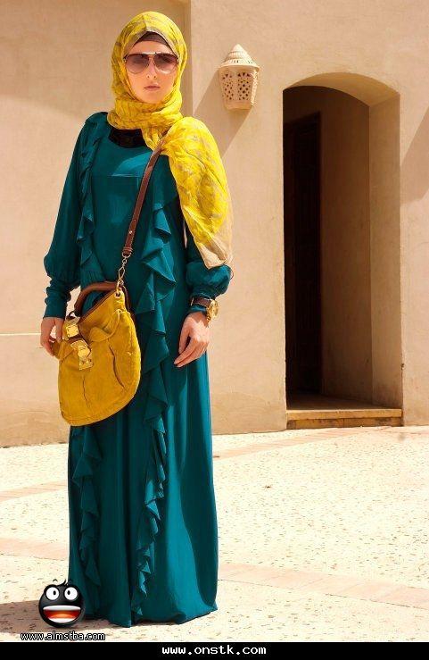 صورة ملابس محجبات للجامعات