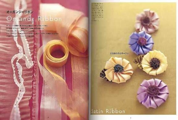 بالصور طريقة صنع الازهار بالحاشية 14273 1