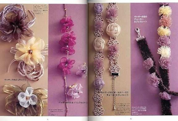 بالصور طريقة صنع الازهار بالحاشية 14273 3