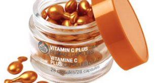 فوائد كبسولات فيتامين سي للبشره