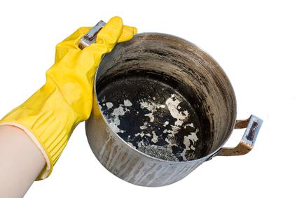 صورة طريقة تنظيف الاستانلس المحروق , اسهل وافضل طرق التنظف الاستانلس