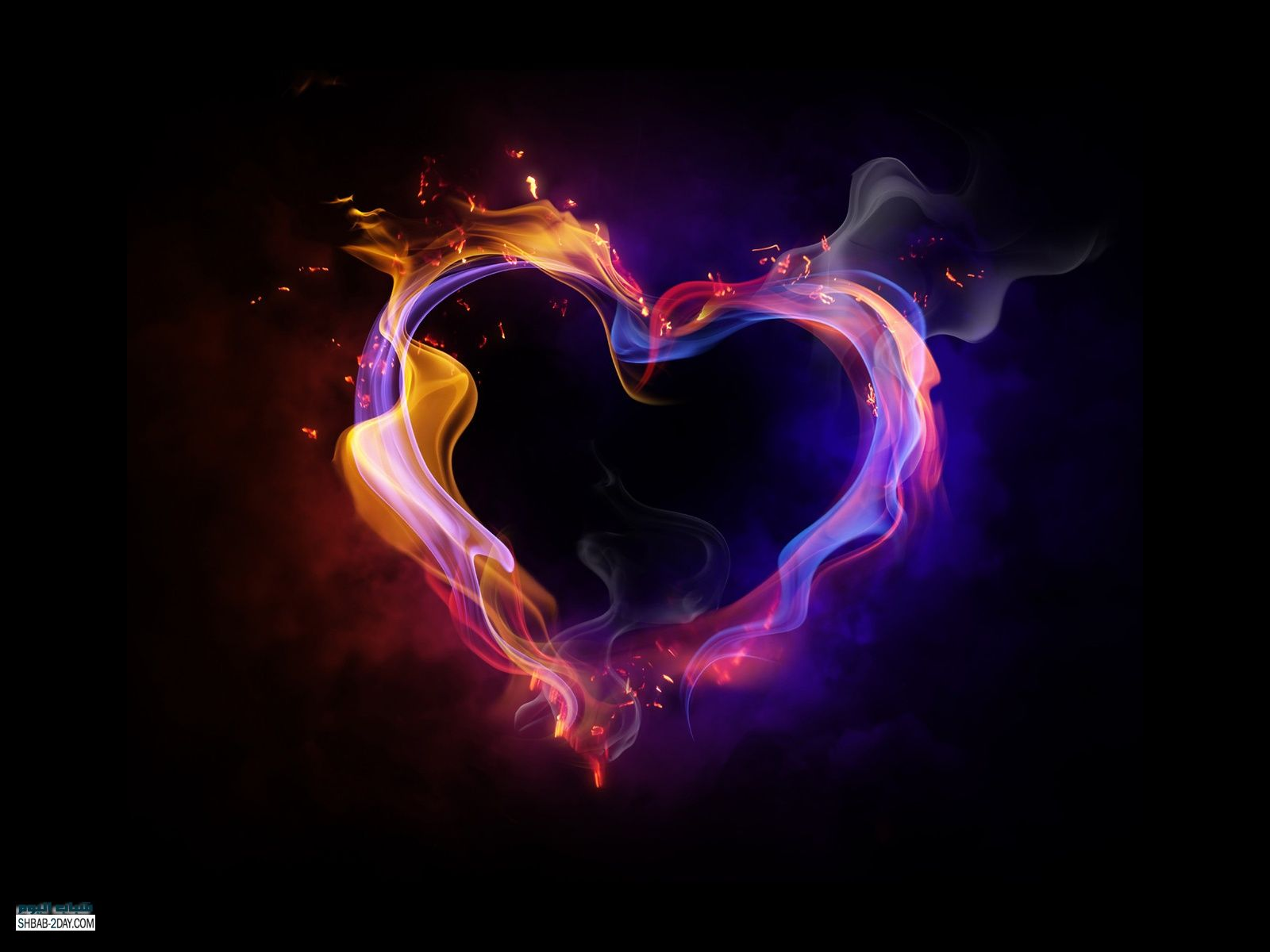 صور خلفيات قلوب