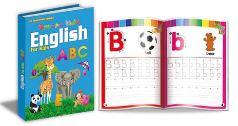 صوره تعليم كتابة الحروف الانجليزية للاطفال