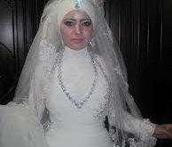 صور عروس محجبة