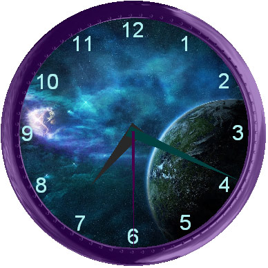 صور خلفية سطح المكتب ساعة متحركة