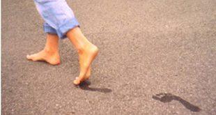 عدم القدرة على المشي في المنام