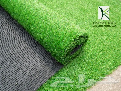 صوره سعر المتر للعشب الصناعي
