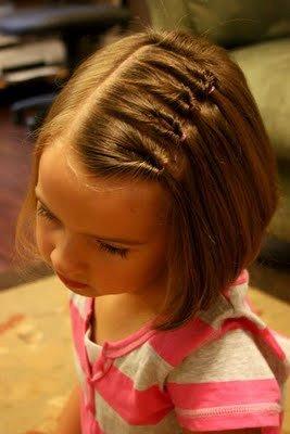 قصير قصات شعر اطفال بنات عمر سنتين