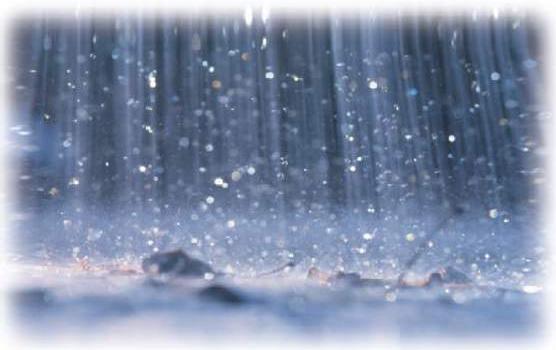 صور رؤيا المطر الغزير في المنام