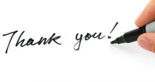 كلمات شكر للهدايا