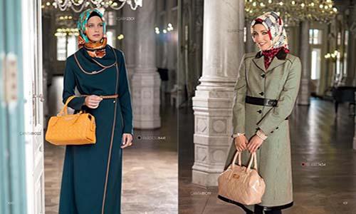 صوره لباس المحجبات بالمغرب من اجمل ملابس البنت المغربية المحجبة