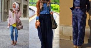 صورة لباس المحجبات بالمغرب من اجمل ملابس البنت المغربية المحجبة