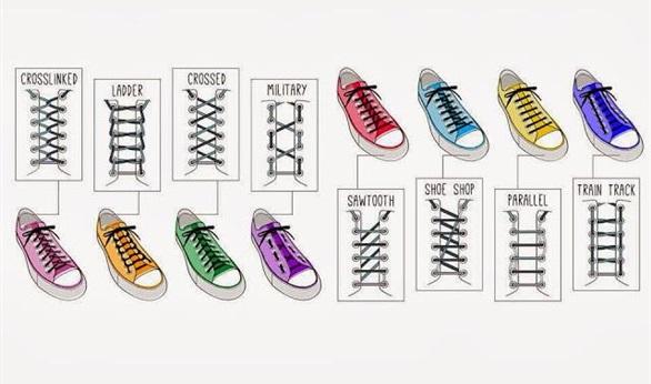 بالصور طريقة ربط الحذاء 4431 2