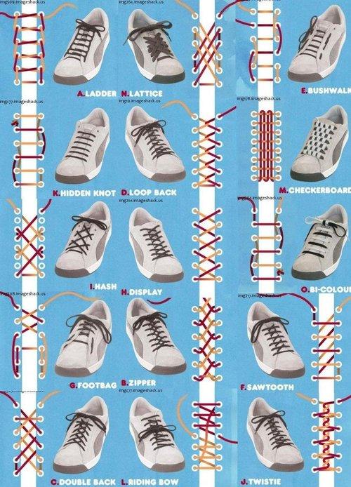 بالصور طريقة ربط الحذاء 4431
