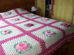 بالصور افرشة سرير بالكروشي 5916 2