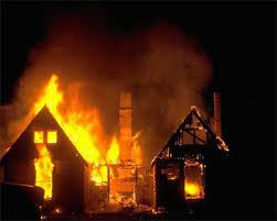 صوره تفسير حلم بيت يحترق