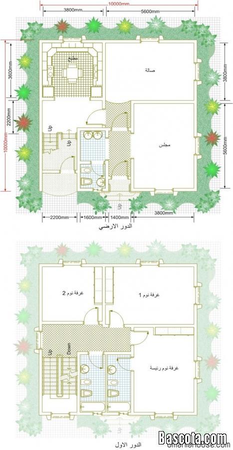 بالصور تصاميم بيوت صغيرة دور واحد 6759 2