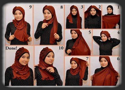 بالصور لفات الحجاب للمراهقات 7188