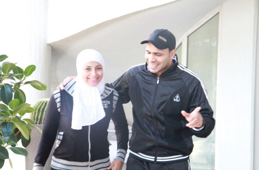 بالصور بلال العربي وزوجته 7337 1