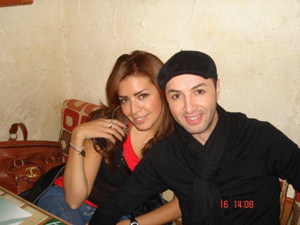 بالصور بلال العربي وزوجته 7337