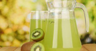 صوره عصير الكيوي والليمون لحرق الدهون