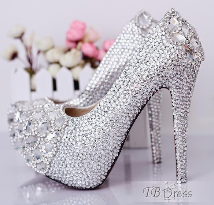 بالصور احذية الكعب العالي للعرائس 210 2