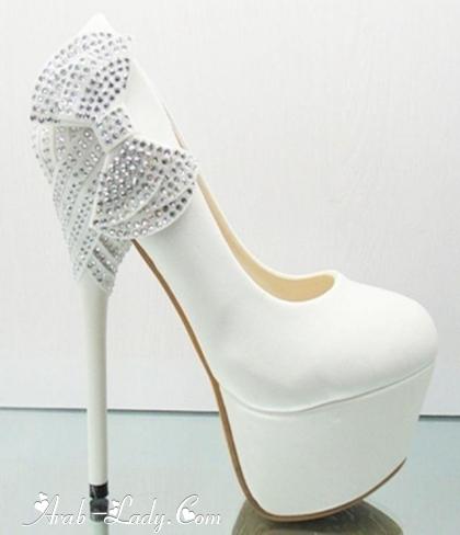 بالصور احذية الكعب العالي للعرائس 210 3