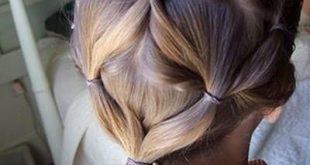 تسريحة شعر سهلة للاطفال