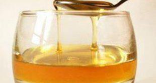 العسل والماء على الريق