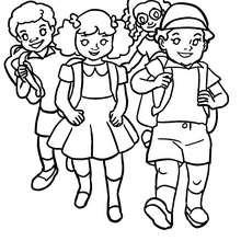 صور الاطفال للتلوين
