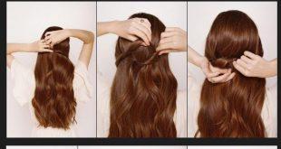 قصات شعر بسيطة وسهلة