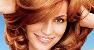 اللون النحاسي في الشعر