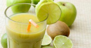 صوره طريقة عمل عصير الكيوي والليمون