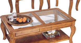 صوره طاولات خشبية للصالون