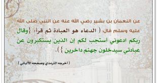 دعاء المسلم لاخيه بظهر الغيب مستجاب