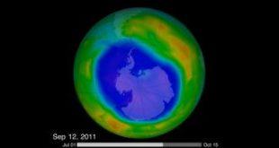 بحث ثقب الاوزون